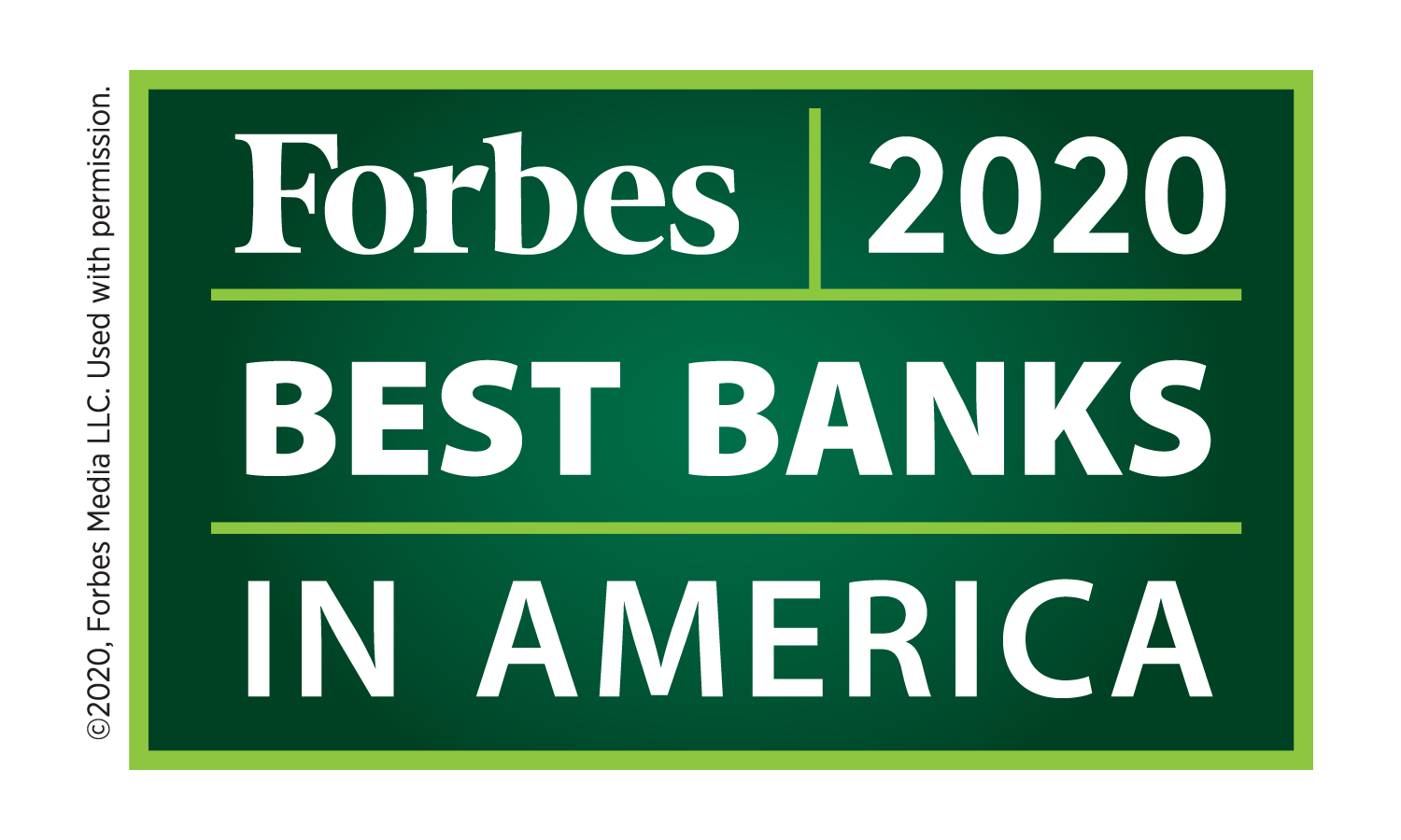 Forbes Best Bank 2020